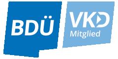 Mitglied im BDÜ VKD
